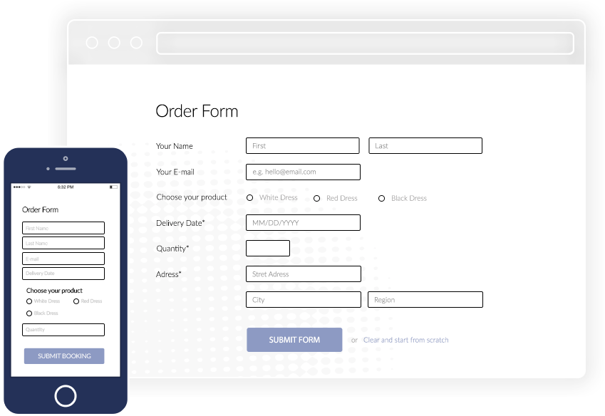WordPress PayPal Order Form Plugin | CaptainForm