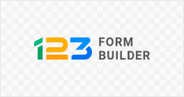 123formbuilder logo transparent wide