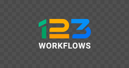 123workflows logo black