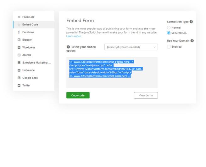 Order Form Builder - Sell Your Goods Online | 123FormBuilder