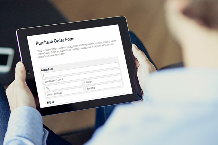 paypal order forms for mobile and tablets