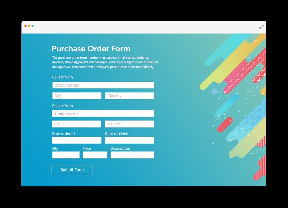 order form website  WorldPay Order Form Integration by 8FormBuilder