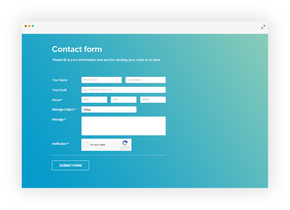 Php Form Builder With Drag Drop Editor 123formbuilder