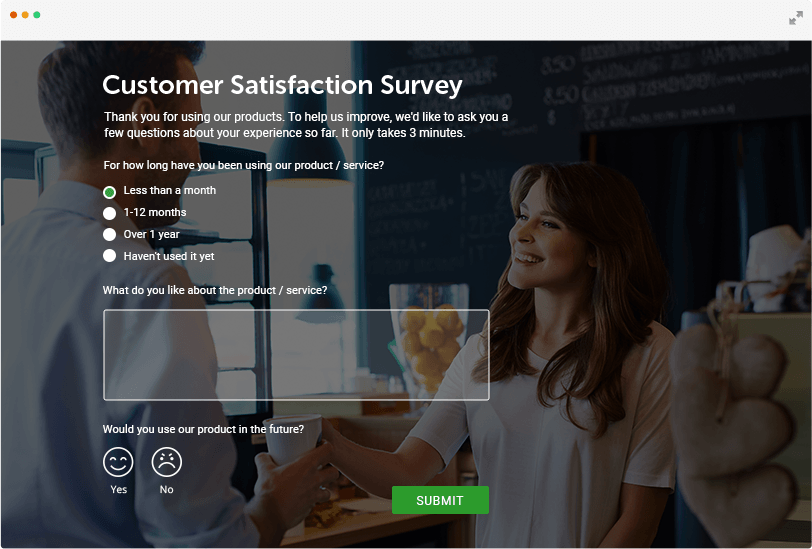 Free Online Survey Maker with Reports & Charts | 123FormBuilder
