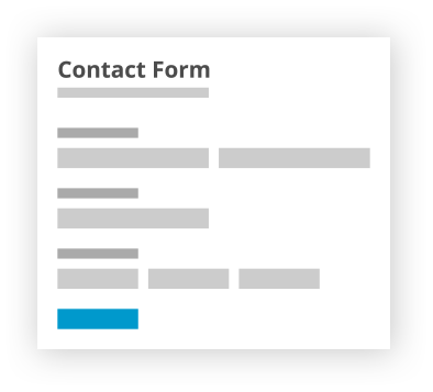Publish web forms on Wix pages